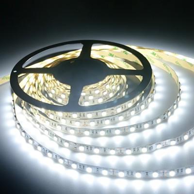 ŞERİT LED İÇ MEKAN SİLİKONSUZ 5050 3 ÇİPLİ 5 MT.