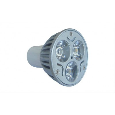 3 x 1 Watt Power Led Ampul