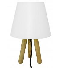 Tripod Abajur Masa Lambası Beyaz