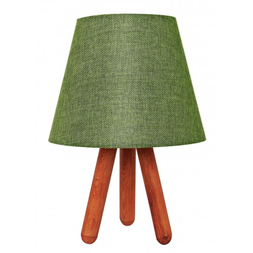 Tripod Abajur Masa Lambası Yeşil
